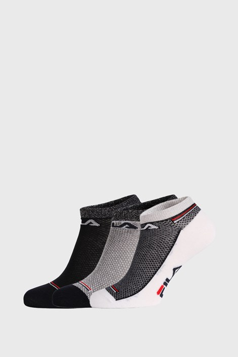 3 PACK чорапи FILA Invisible Navy