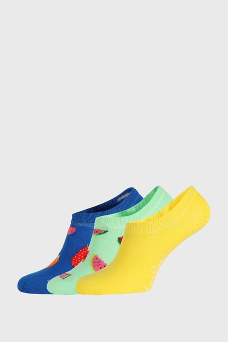 3 PACK чорапи Happy Socks Fruits No Show