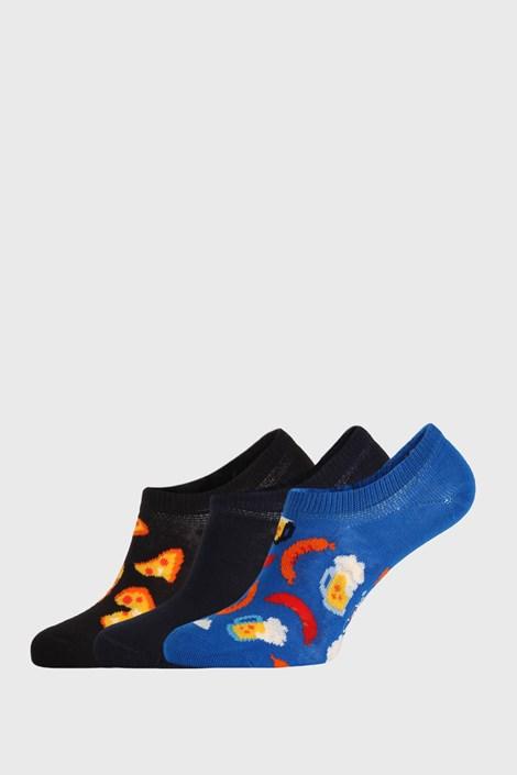 3 PACK чорапи Happy Socks Junkfood No Show