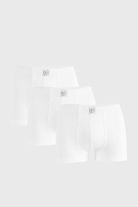 3 PACK бели боксерки bugatti Finian