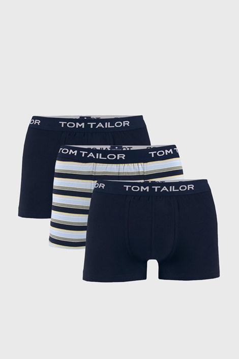 3 PACK сини боксерки Tom Tailor Elastic