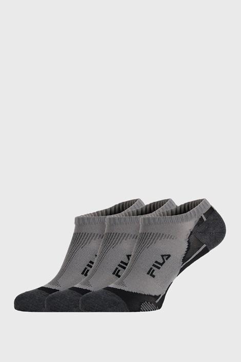 3 PACK  сиви чорапи FILA Invisible