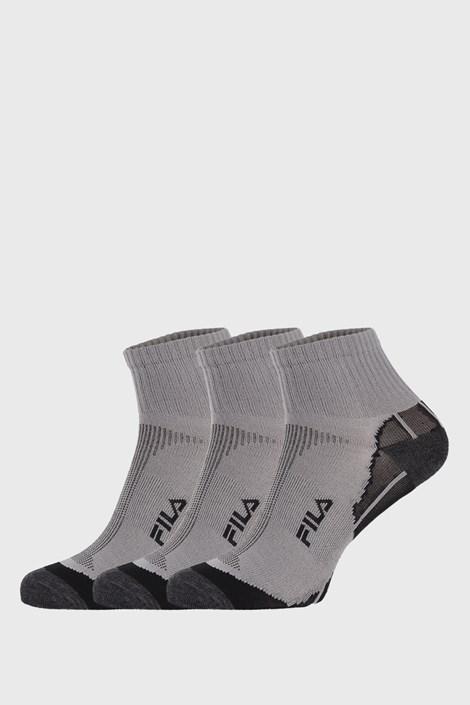 3 PACK сиви чорапи FILA Multisport