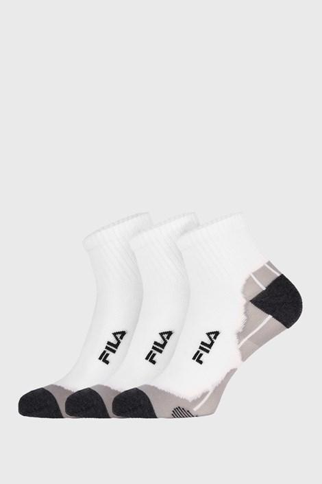 3 PACK бели чорапи FILA Multisport