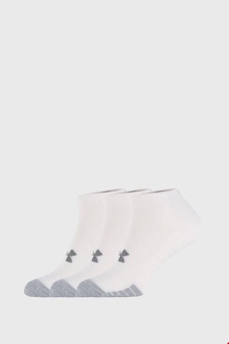 3 PACK бели чорапи Under Armour Locut
