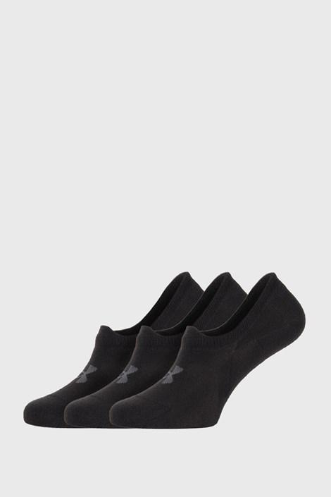 3 PACK черни къси чорапи Under Armour