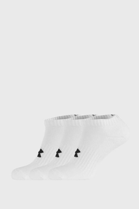 3 PACK къси бели чорапи Core Under Armour