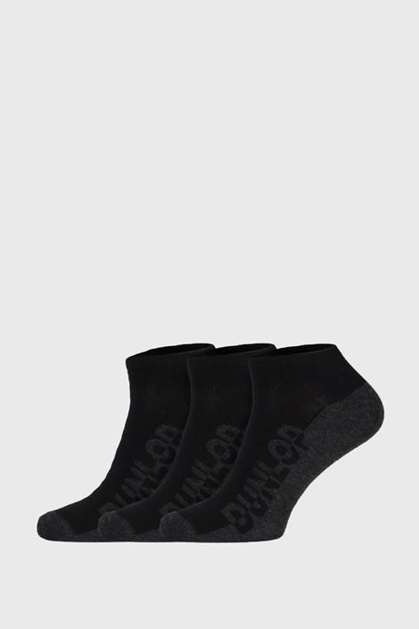 3 PACK черни чорапи Dunlop