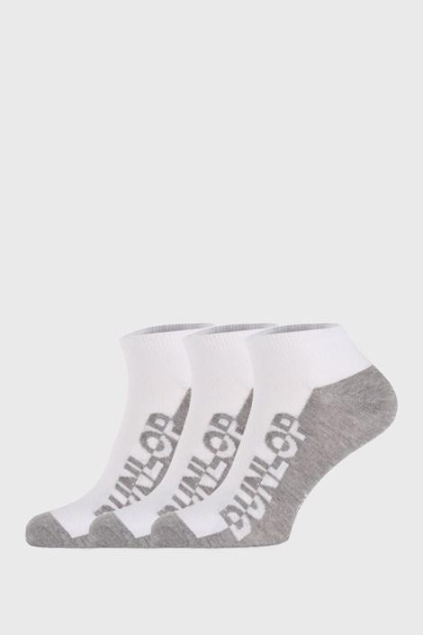 3 PACK бели чорапи Dunlop