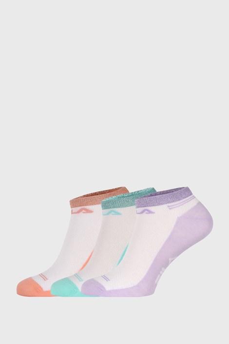 3 PACK къси чорапи FILA Invisible Lady Color