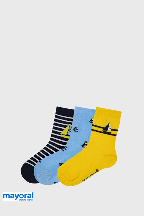 3 PACK чорапи Mayoral Sailing