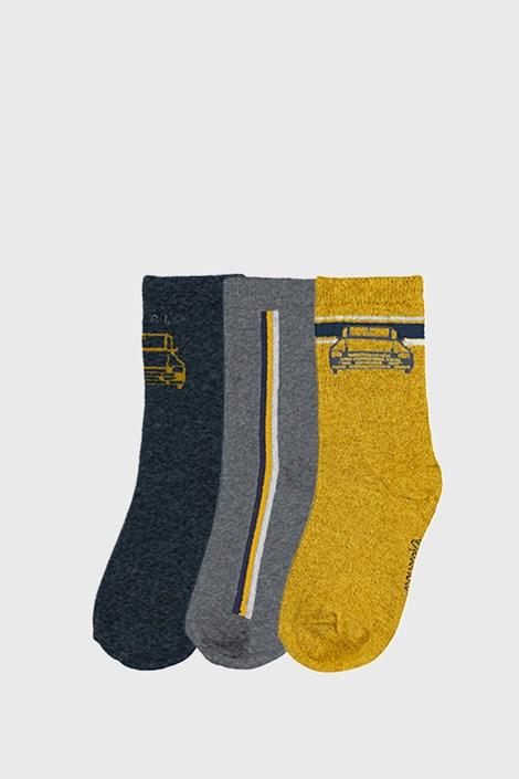 3 PACK чорапи за момчета Mayoral Cars