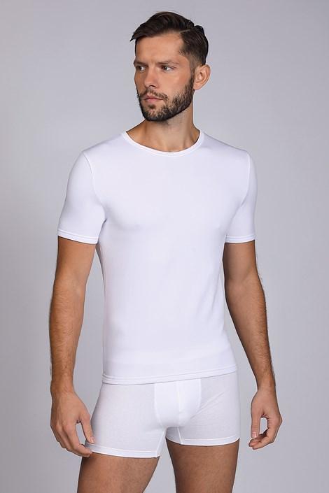 Бяла термо тениска Short basic