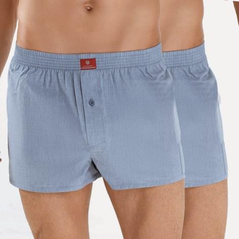 2 pack мъжки шорти BLACKSPADE Indigo 100% памук