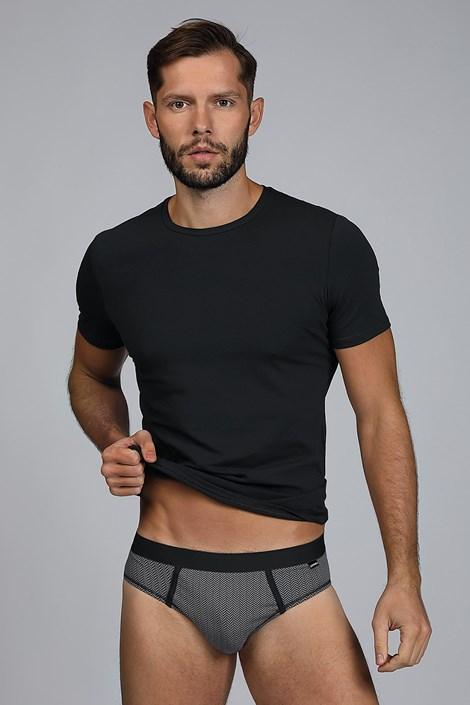 Мъжки сет от тениска и слипове Dandy черен