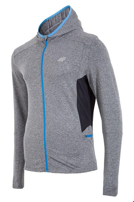 Мъжко спортно горнище 4f Dry Control Grey