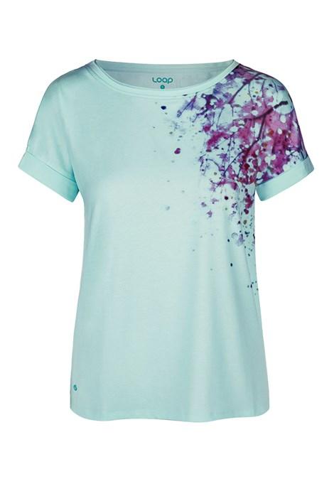 Дамска синя тениска LOAP Alyssa