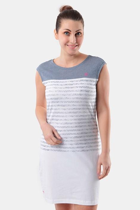 Бяла дамска рокля LOAP Abrisa