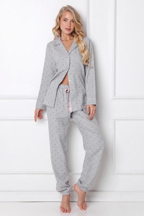 Дамска фланелена пижама Christy дълга
