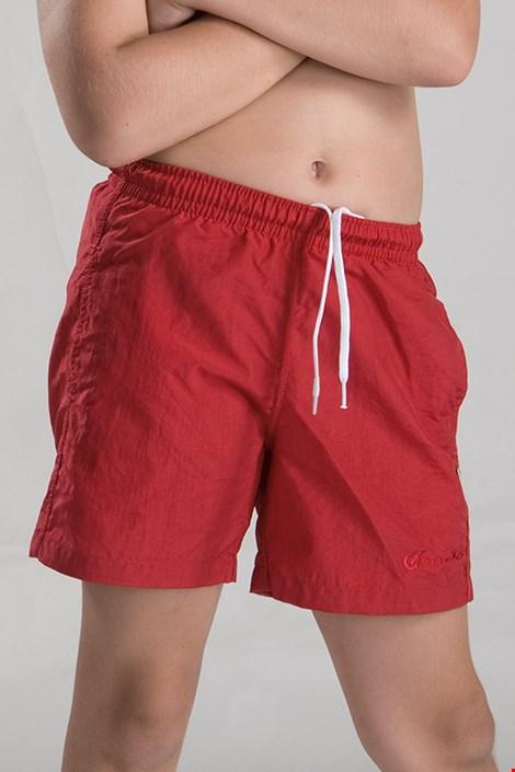 Бански шорти за момчета червени