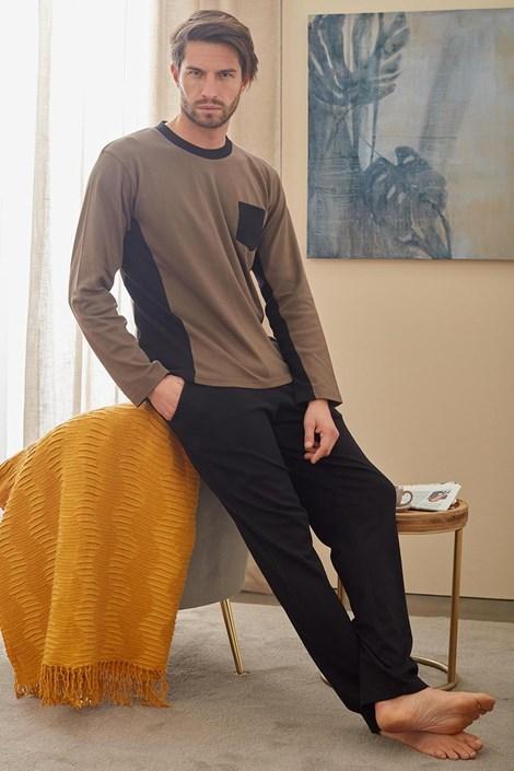 Кафяво-зелена пижама Christopher
