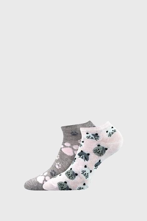 2 PACK дамски чорапи Cats