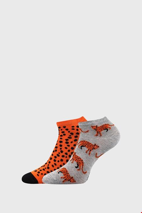 2 PACK дамски къси чорапи Levhart