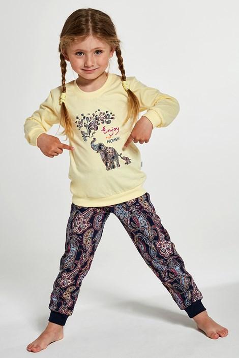 Пижама за момичета Elephants