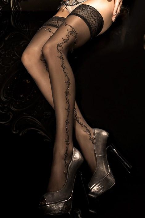 Луксозни силиконови чорапи HushHush 285