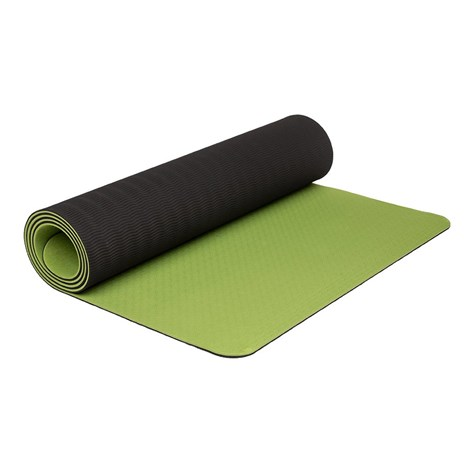 Зелена постелка за йога LOAP Sanga