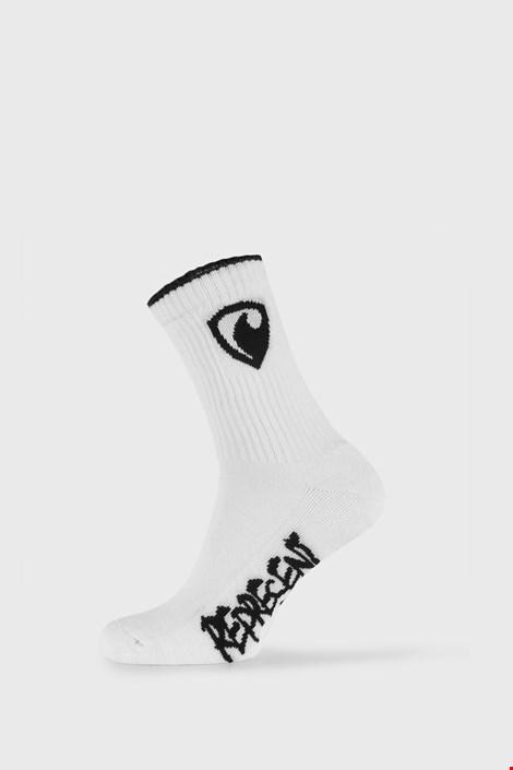 Бели чорапи Represent Long