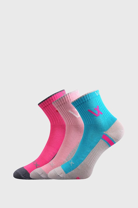 3 PACK спортни чорапи за момичета VOXX Neonik