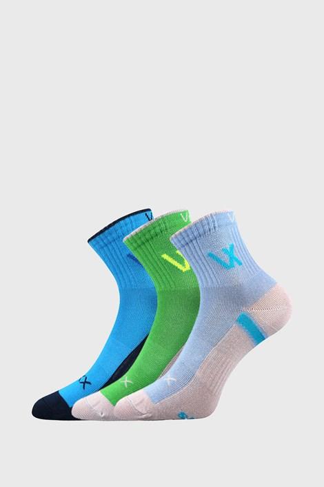 3 PACK спортни чорапи за момчета VOXX Neonik