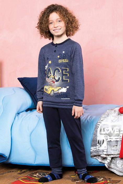 Пижама за момчета Race синя