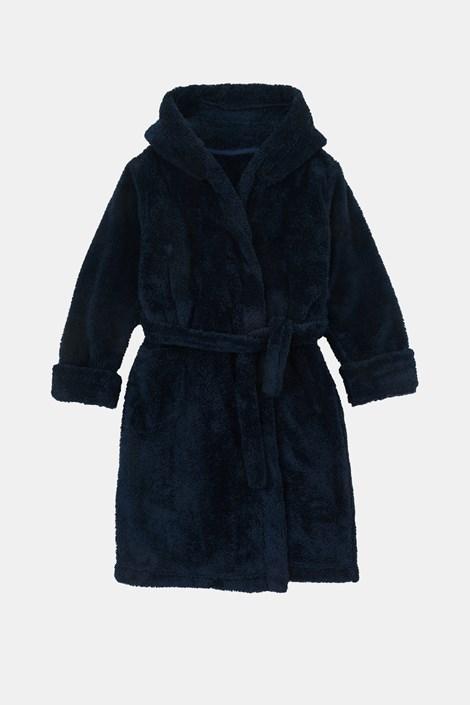 Тъмносин халат за момчета