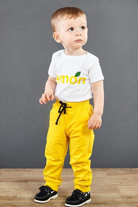 Детски анцуг жълт