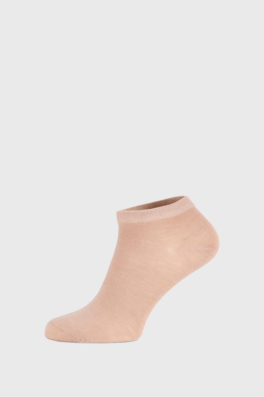 Чорапи Bamboo къси бежови
