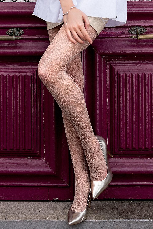Фигурален чорапогащник Brigitte 09